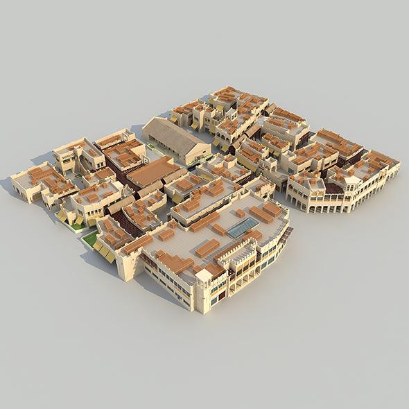 Maktoum souk - 3DOcean Item for Sale
