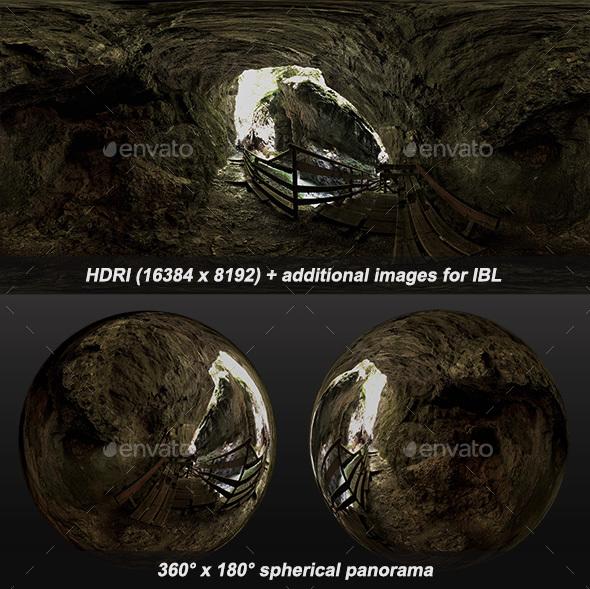 Wolfsklamm Bench HDRI - 3DOcean Item for Sale