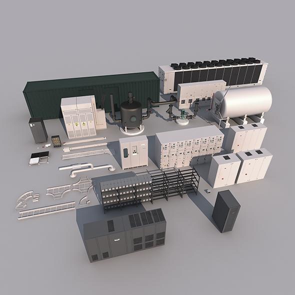 3DOcean Industrial Equipment 18315385