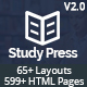 StudyPress - Education & Courses HTML5 Template