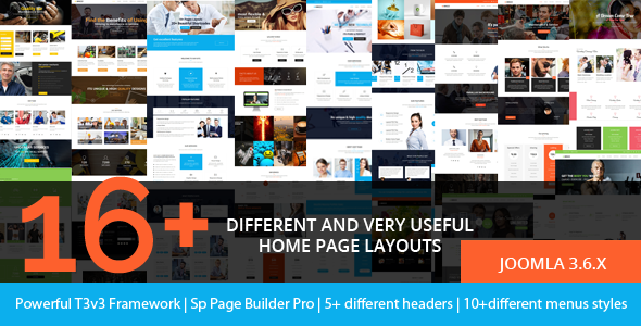 Preview.  large preview - Brezz - Responsive Multi-Purpose Joomla Template