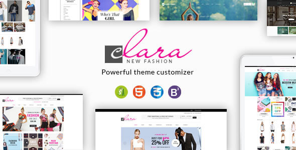 Download Clara - Minimalist Fashion Responsive Shopify Theme nulled download