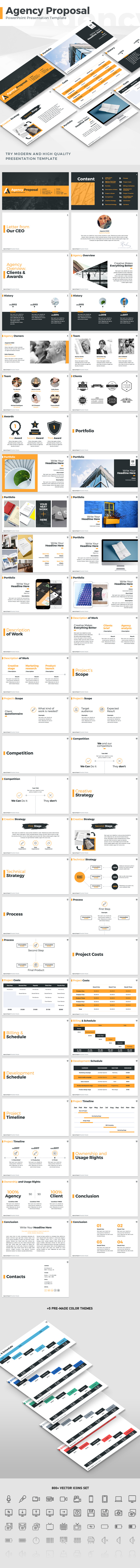 Agency Proposal - PowerPoint Template (PowerPoint Templates)