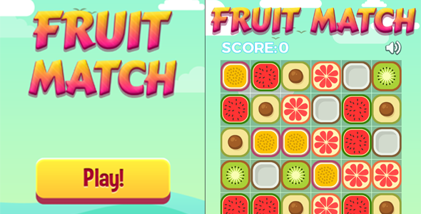 Download Fruit Match - HTML5 Casual Game nulled download