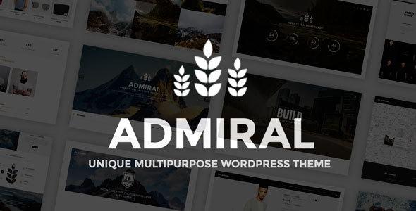 Admiral - Unique Multipurpose WP Theme