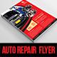 Auto Repair Business Flyer