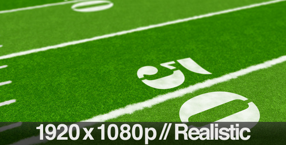 VideoHive Football Field From End Zone to End Zone 1805343