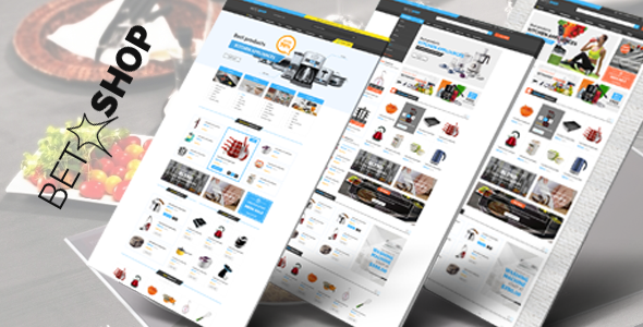 Vina BetaShop - Kitchen Appliances VirtueMart Template