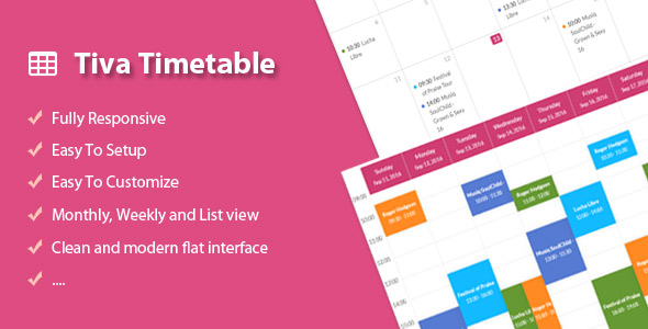 Download Tiva Timetable For PHP