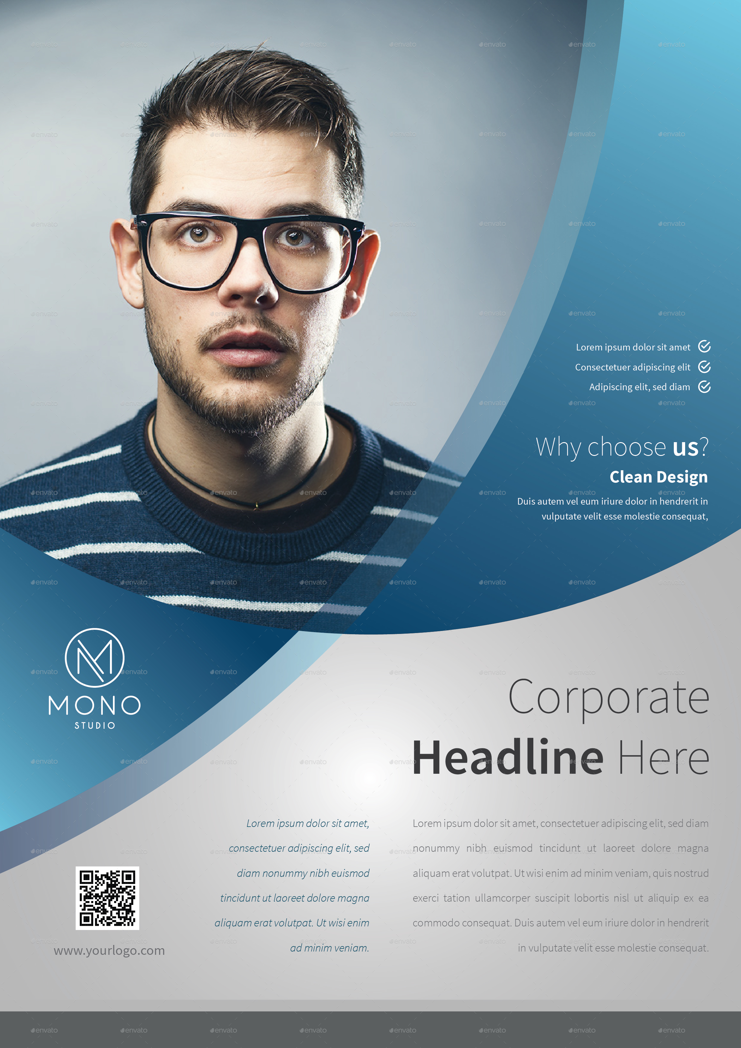 corporate flyer template set by monogrph graphicriver preview image set corporate flyer template 8a 01 jpg