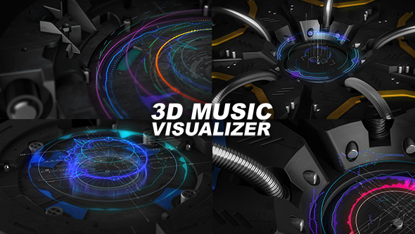 Download 3D Music Visualizer nulled download