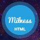 Milness - Showcase Mobile App HTML Template
