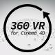 360 VR for Cinema 4D