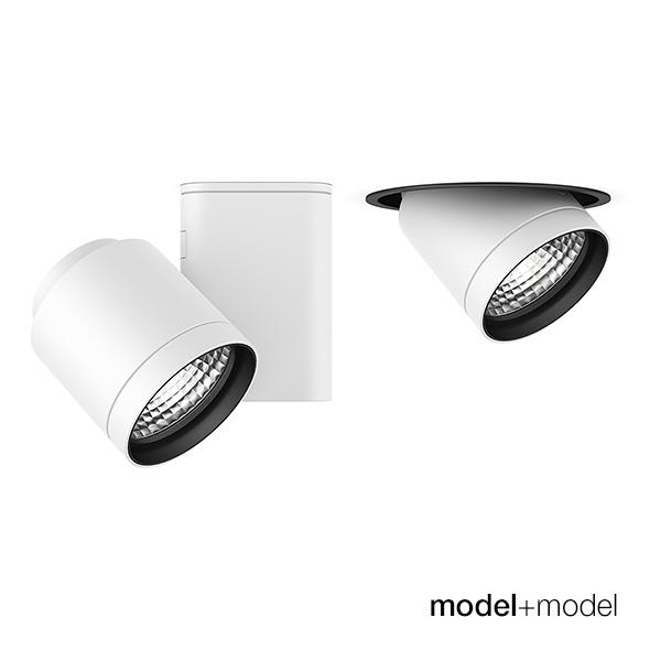 Flos Architectural Pure spotlights - 3DOcean Item for Sale