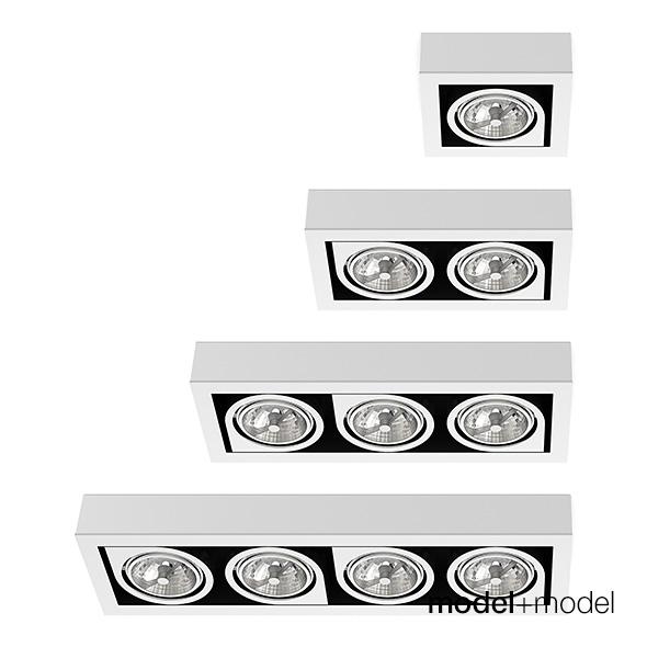 Vibia Corner spotlights - 3DOcean Item for Sale