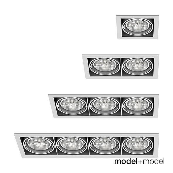 Delta Light Grid In spotlights collection - 3DOcean Item for Sale