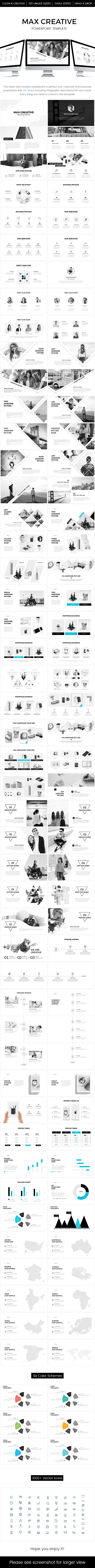 Max Creative Powerpoint Template (PowerPoint Templates)