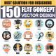 Set of Flat Design Concept -Graphicriver中文最全的素材分享平台