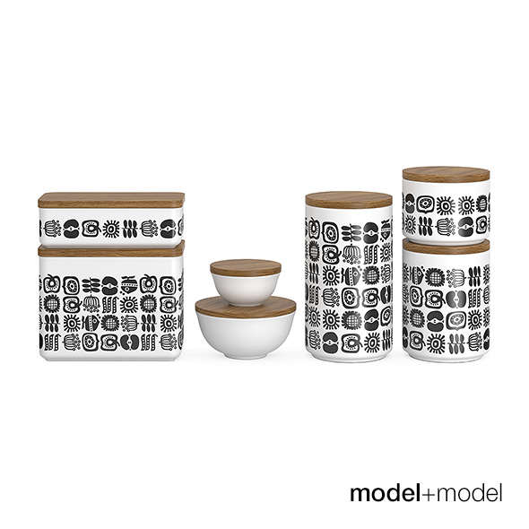 Storage boxes - 3DOcean Item for Sale