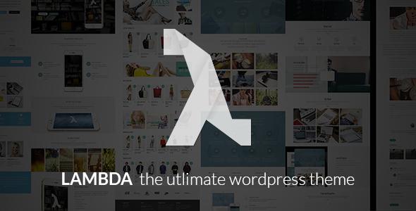 Lambda - Multi Purpose Responsive Bootstrap Theme