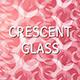 Crescent Glass Background