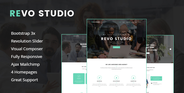 Revo Studio - Multipurpose WordPress Theme