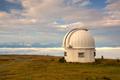 Observatory dome in the Gerlitzen Apls in Austria.