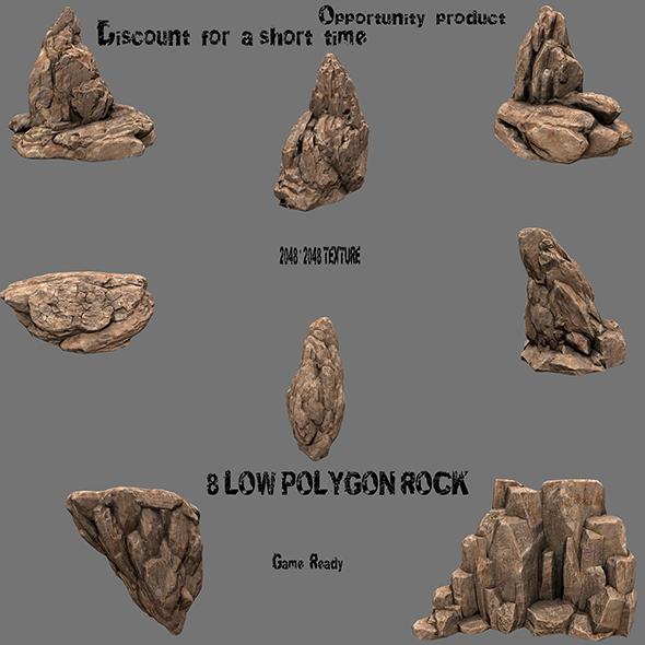 rock set 21 - 3DOcean Item for Sale