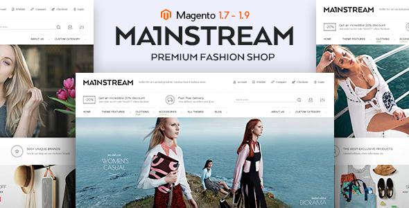 Mainstream – Responsive Magento Theme (Style)