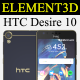 Element3D - HTC Desire 10 lifestyle