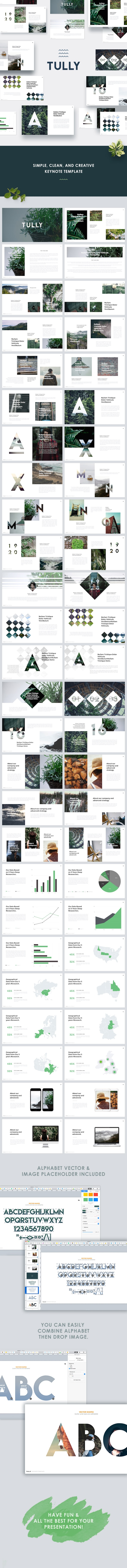 Tully - Clean Keynote Template