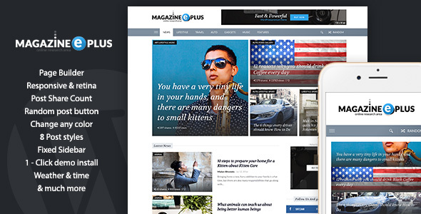 MagazinePlus - WordPress Premium theme for News / Magazine / Newspaper