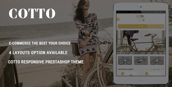 Download Cotto - Responsive Prestashop Theme nulled download