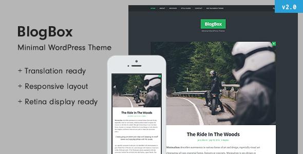 BlogBox - Responsive & Bold WordPress Theme