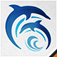 Dolphins Water Park logo