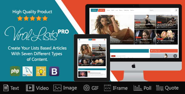 Download Viral Lists Pro nulled download