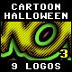Halloween Cartoon Styles Vol.3
