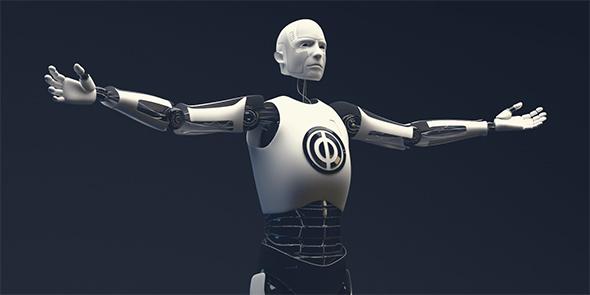 Humanoid robot - 3DOcean Item for Sale