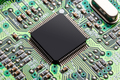 Microchip, electronics concept