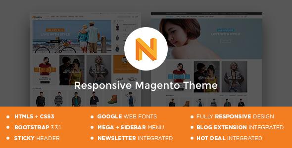 Nexon – Magento Responsive Theme (Shopping) Download