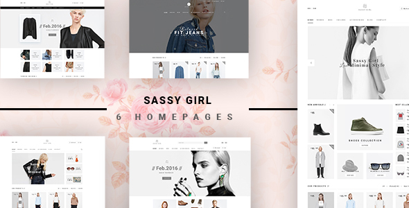 Sassy Girl - eCommerce Fashion Template