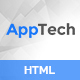 Apptech - Multipurpose Landing Page Template