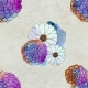 Seamless Floral Pattern With Asters And Daisy