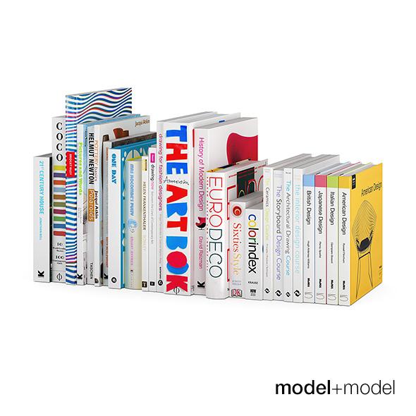 Light design books - 3DOcean Item for Sale