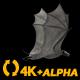 Super Bat - Flying Cycle - Back Angle - 4K