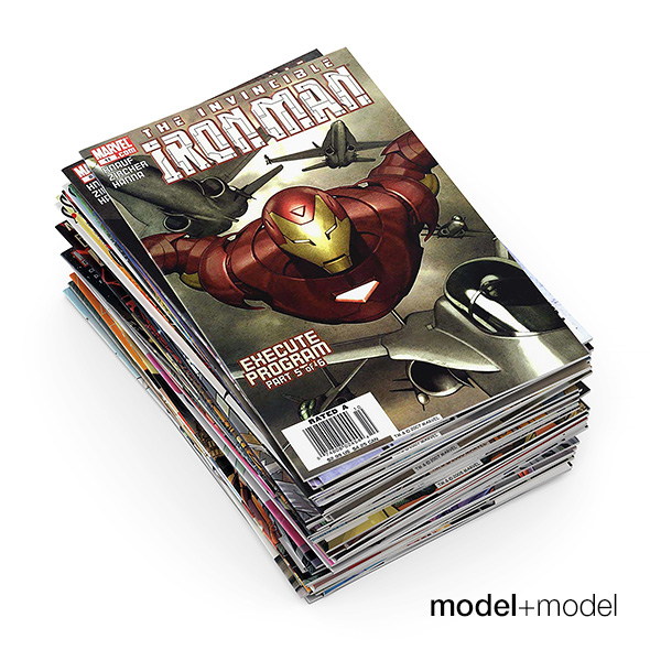 Comic books - 3DOcean Item for Sale