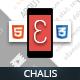 Chalis Mobile Retina | HTML5 & CSS3 and iWebApp