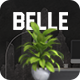 Belle - Simple One Page PSD Template