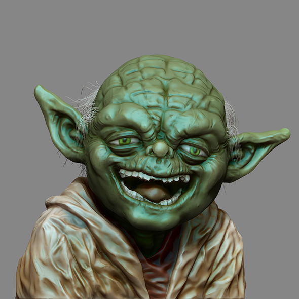 Yoda - 3DOcean Item for Sale