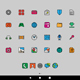 Cartoon Smartphone Apps and Icons